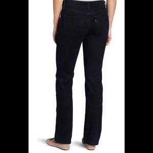 Levi's Demi Curve Classic Straight High Rise Jean